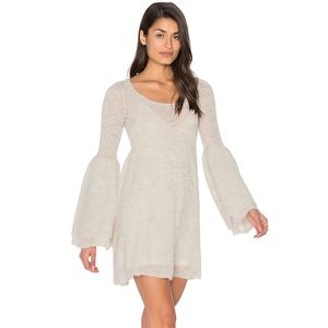 Free People Ivory Juliet Babydoll Dress